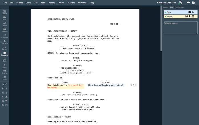 writerduet software