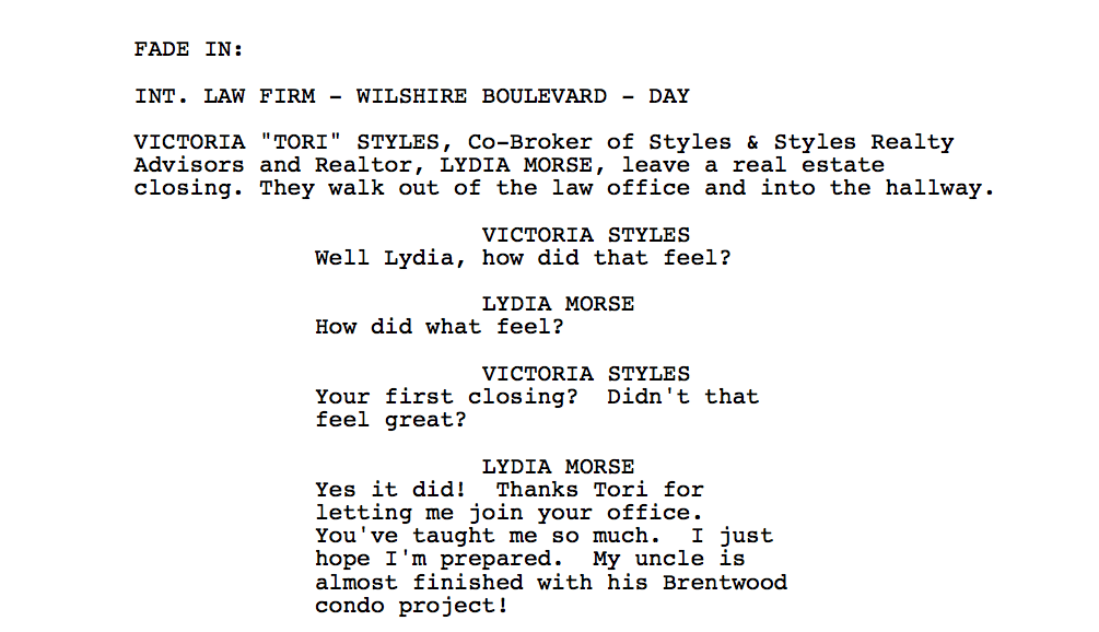 How to Write a Script to a Teenage Sitcom