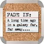 index card script writing app