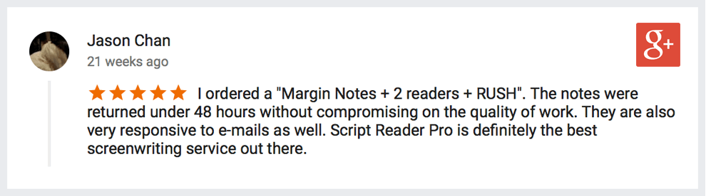 margin notes