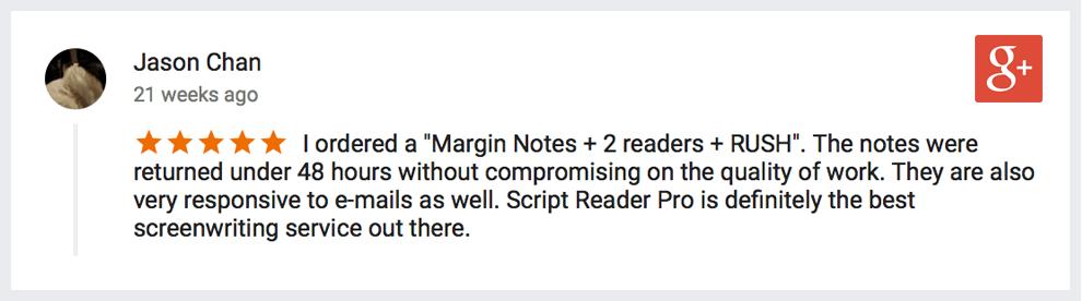 margin notes