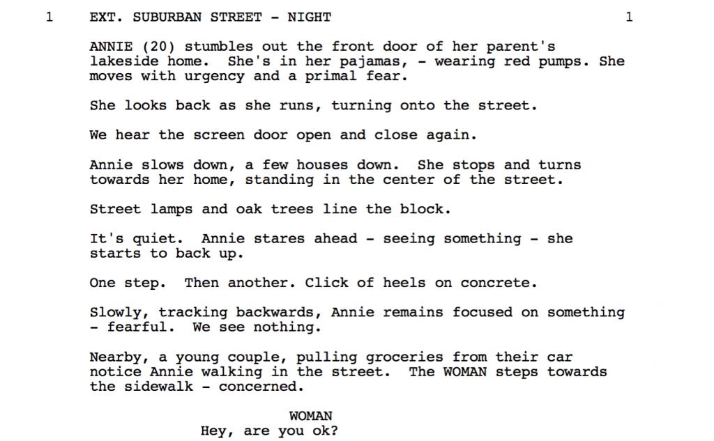 Horror scripts