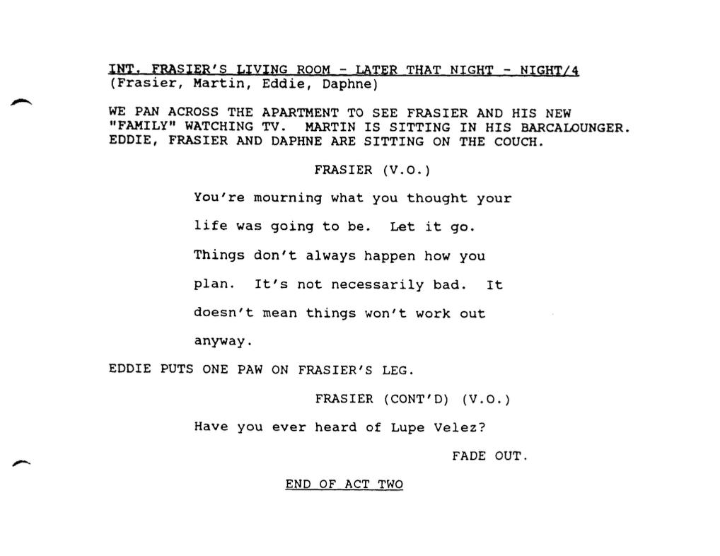 tv script