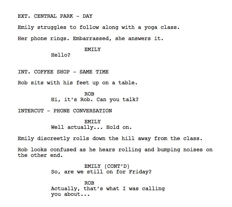 screenplay example