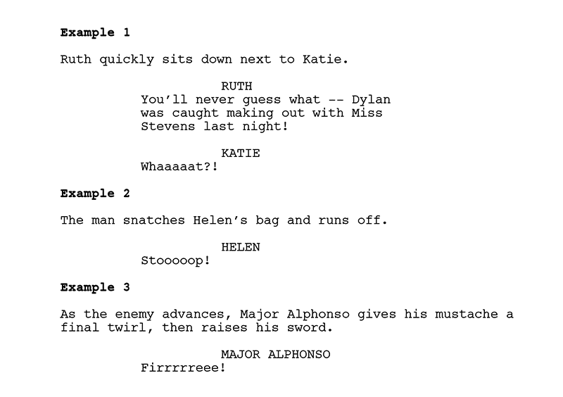 35 common writing style mistakes in spec scripts and how to fix them