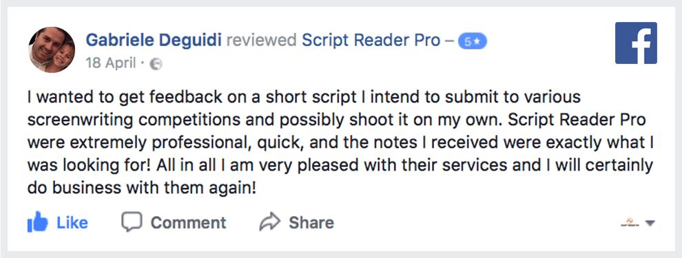 Short Film Coverage