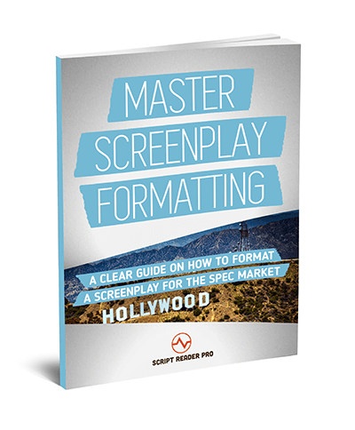 screenplay format book