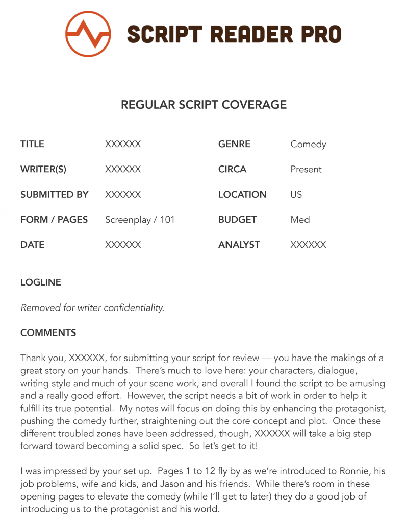 What is script coverage download a script coverage for Script coverage template