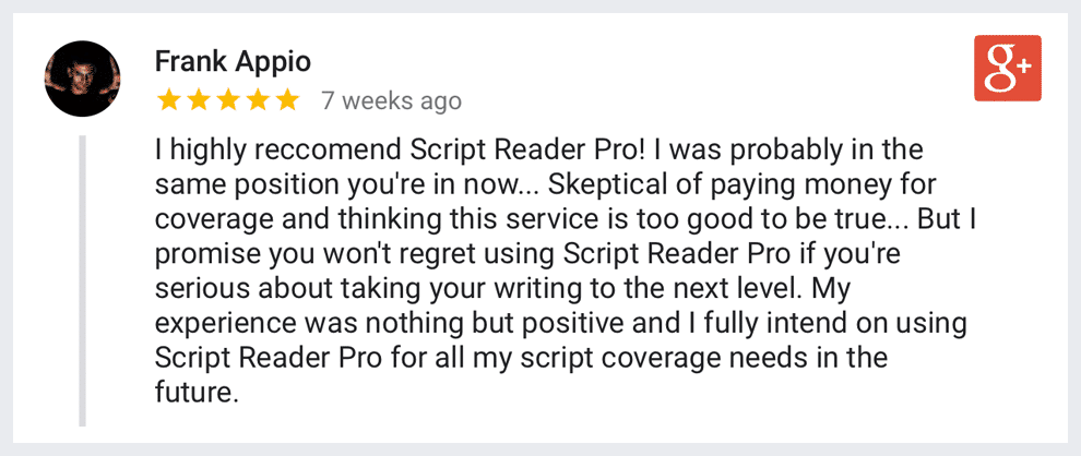 script coverage services