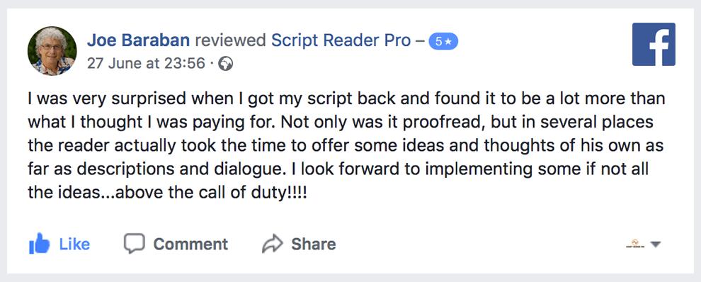 script coverage services