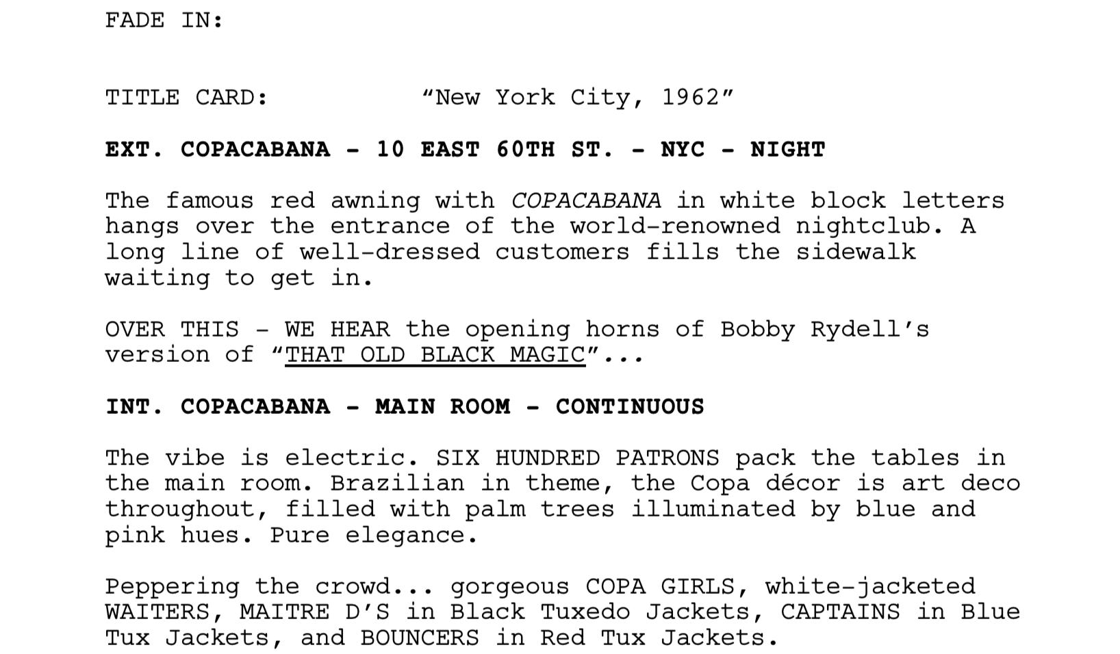 best original screenplay