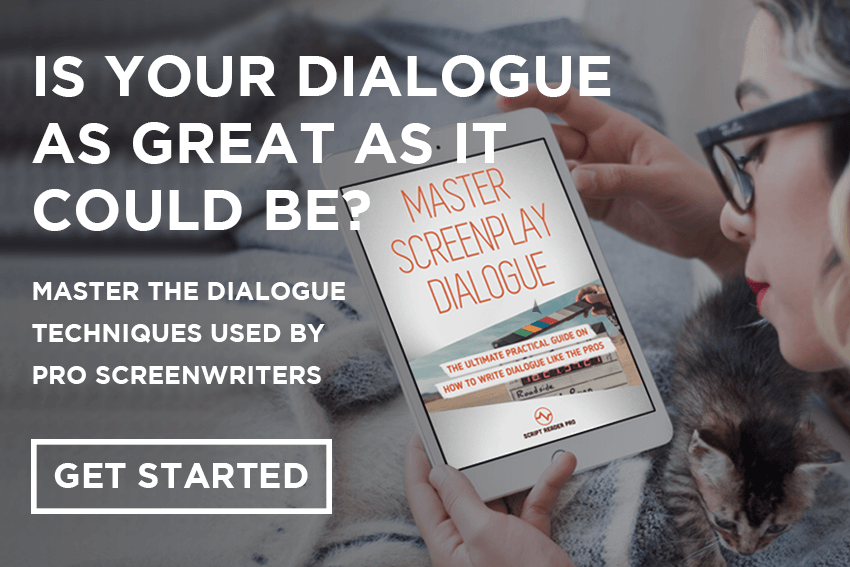 screenwriting dialogue book