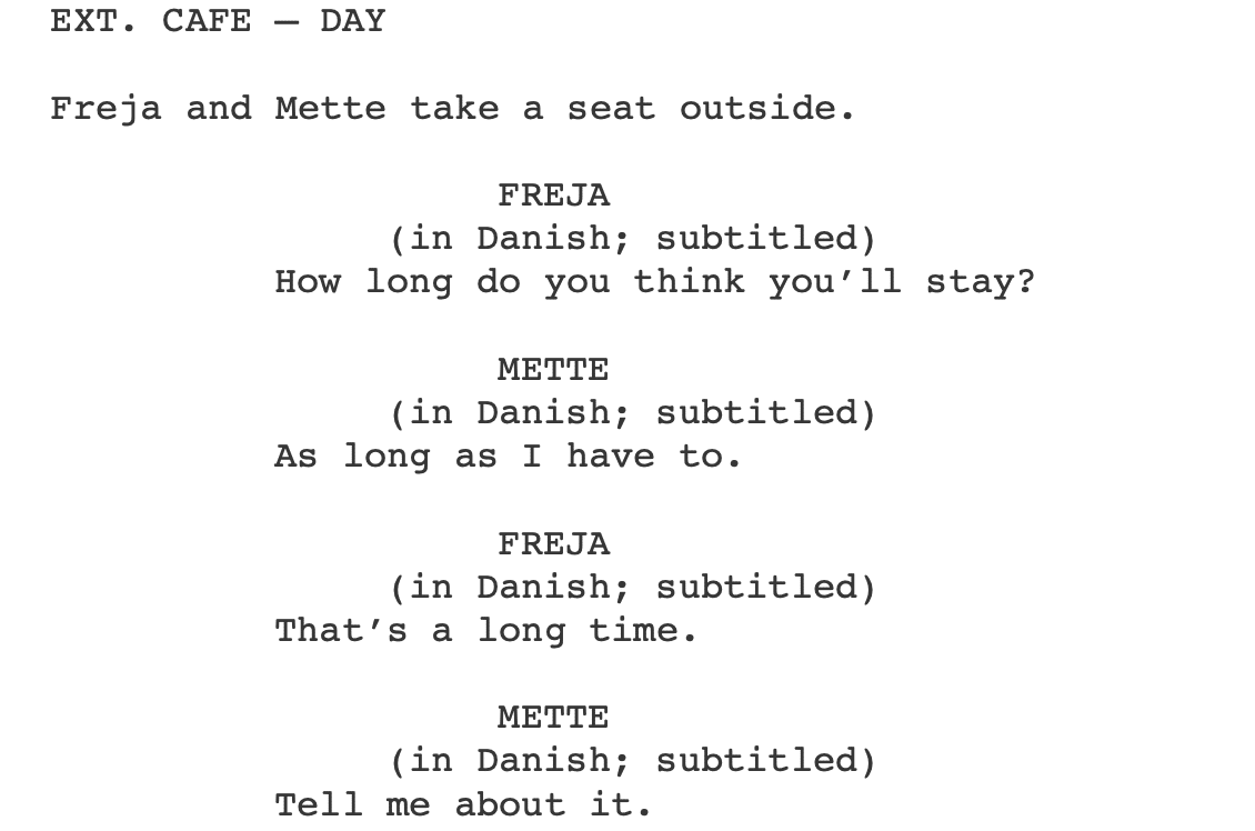 How To Format Dialogue In A Screenplay Top 8 Dialogue Format Errors Have you ever felt like nobody was there? how to format dialogue in a screenplay