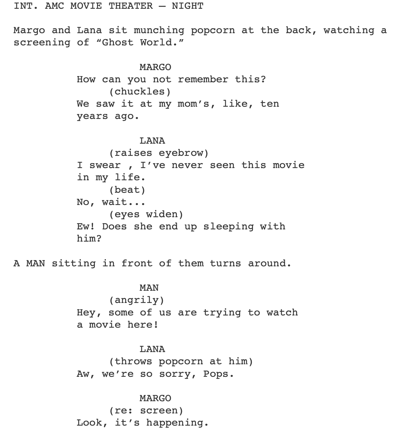 How To Format Dialogue In A Screenplay Top 8 Dialogue Format Errors p: i'm a sensitive soul. how to format dialogue in a screenplay