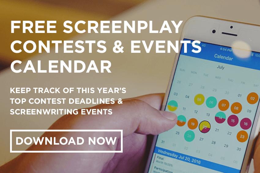 Screenwriting Contest calendar
