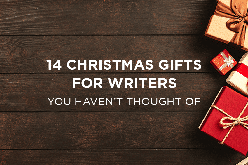 Christmas gifts for writers and screenwriters