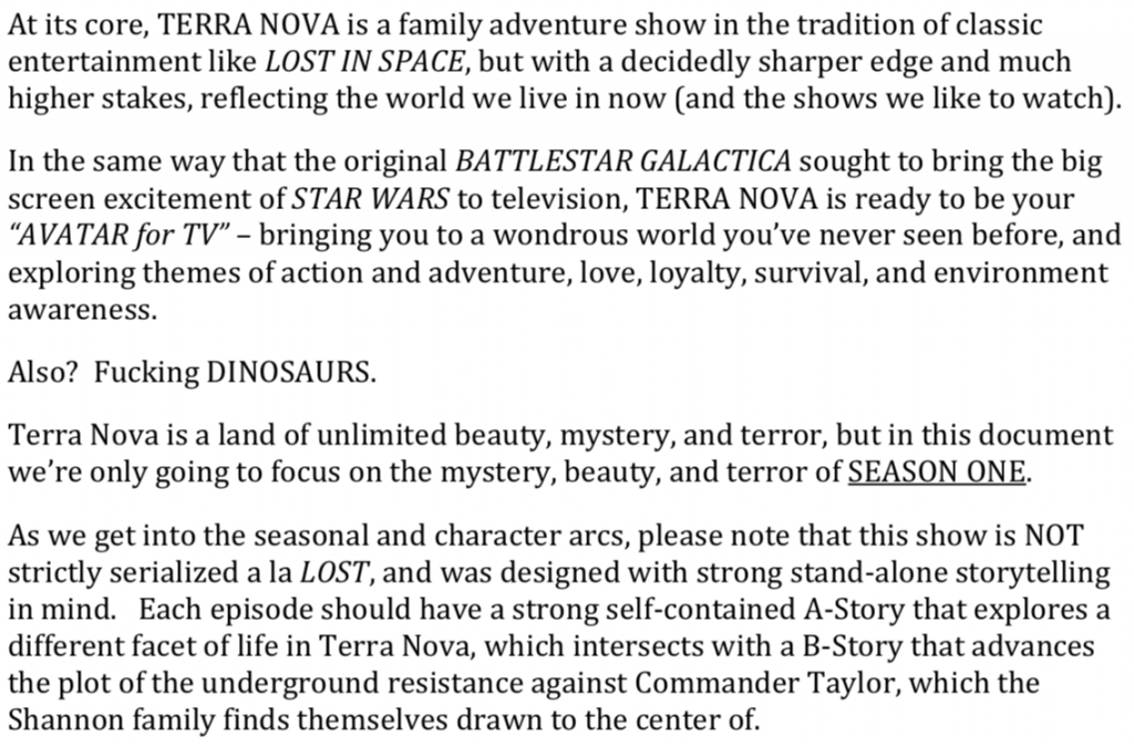 tv show bible examples