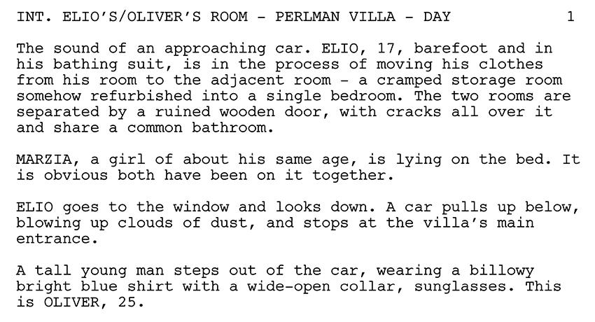 best drama script examples