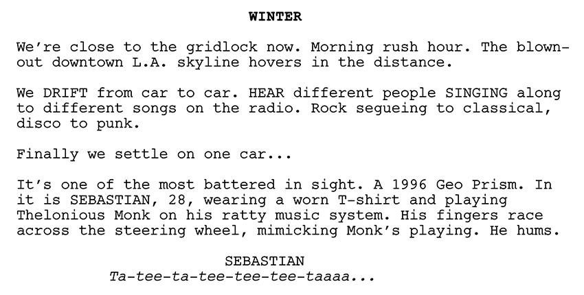 best drama screenplay