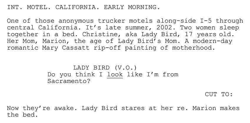 drama script examples